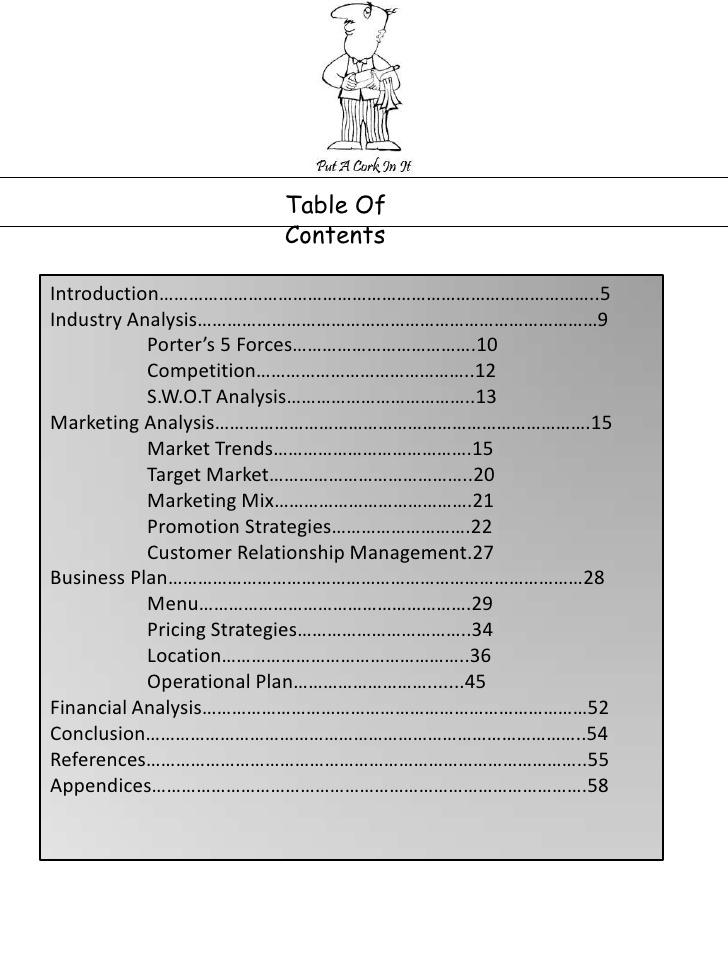 Italian Restaurant Business Plan Sample - Executive Summary