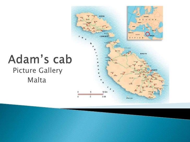 Adam's cab<br />Picture Gallery<br />Malta<br />