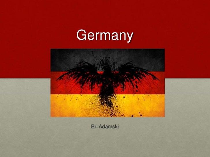 Adamski germany