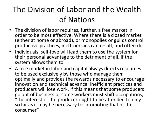 the division of labor and responsibilities according to gender Division of household labor and those who study gender segregation in the paid labor market the overall gender division of labor has not been considered in.