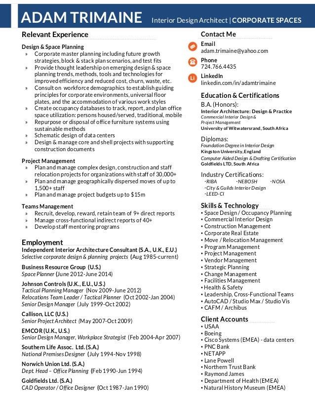 Prismo tri work resume details