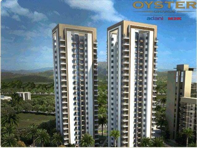 Adani Oyster Grande 3 side-open Apartment