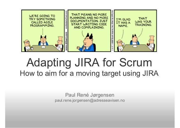 Adapting JIRA For Scrum
