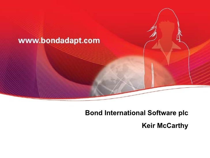 Bond International Software plc Keir McCarthy