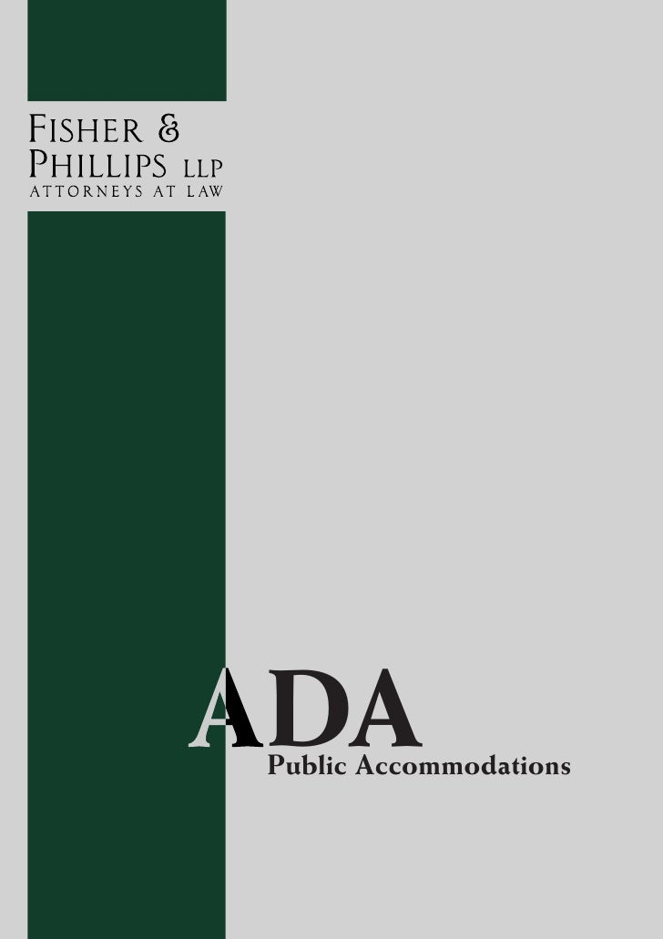 ADA -- Public Accommodation Desk Reference 2010