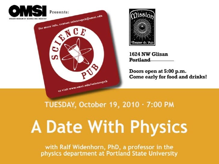 A Date With Physics
