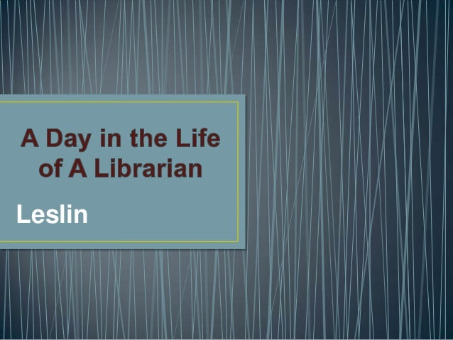 A day in the life of a librarian2