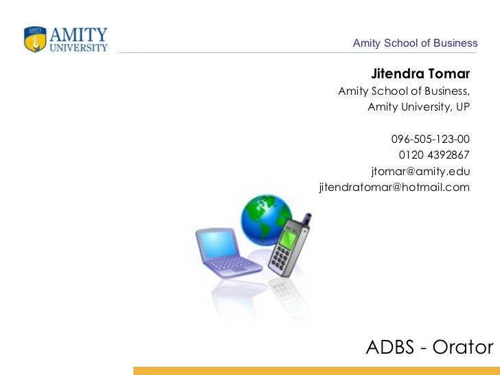 Analysis & Design of Business Systems - 1