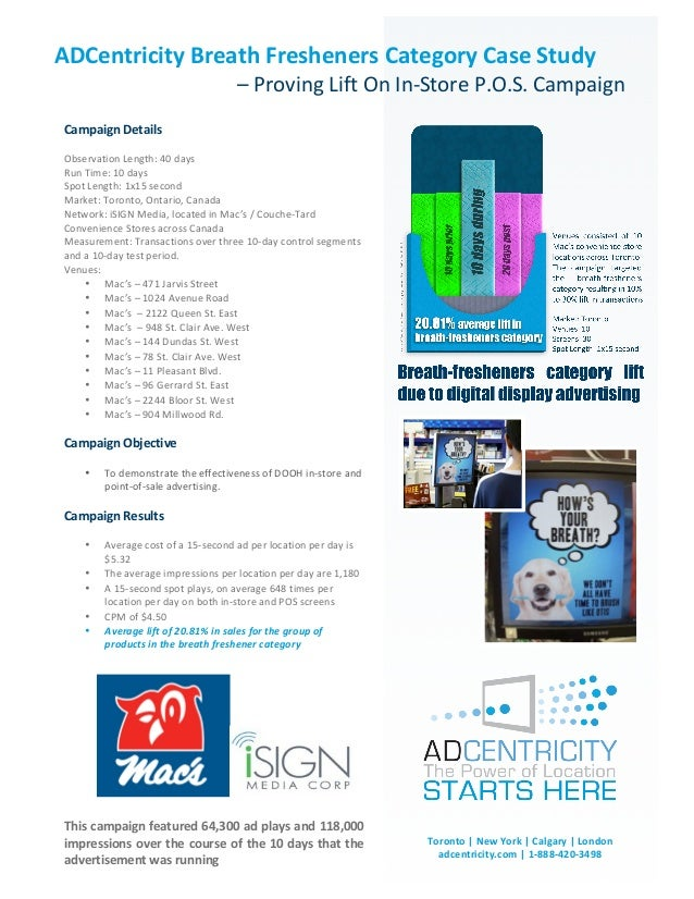 ADCentricity	  Breath	  Fresheners	  Category	  Case	  Study	              	                                              ...