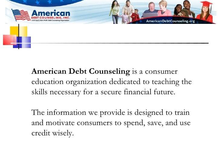 American Debt Counseling Presentation