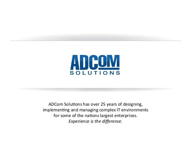 What Do Our Customers Say About ADCom?