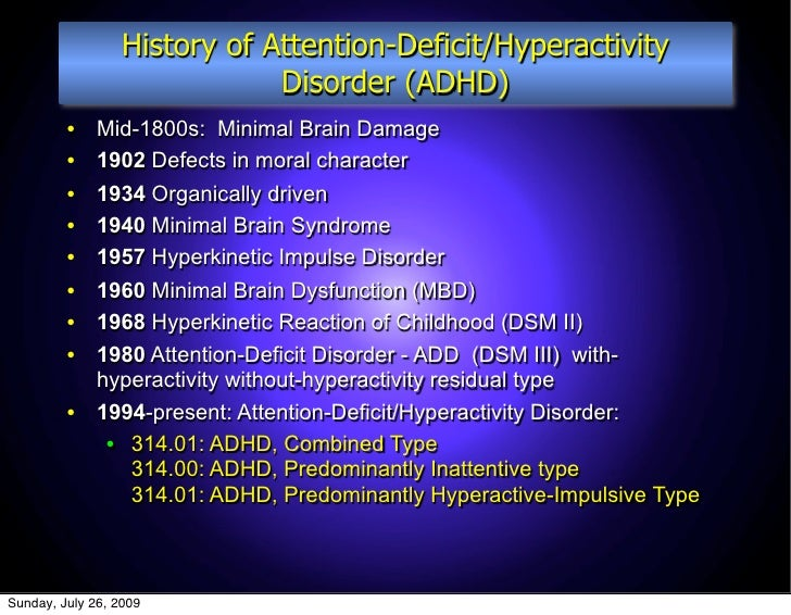 an overview of the effects of attention deficit hyperactivity disorder adhd