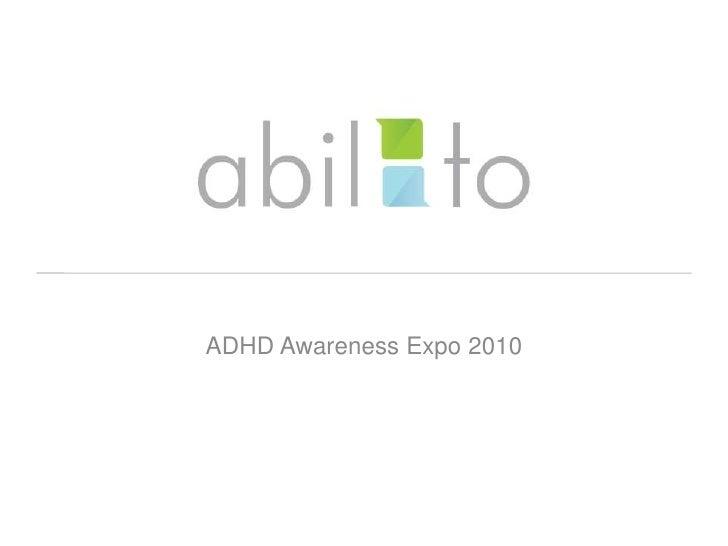 ADHD Awareness Expo 2010<br />