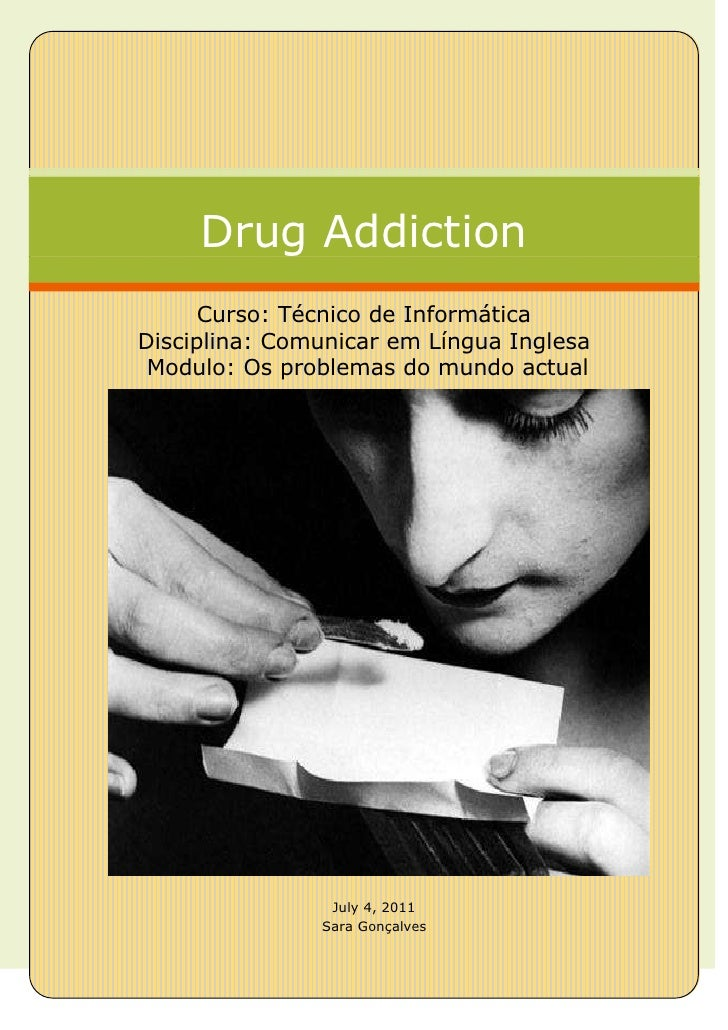 Addictions - Problemas do Mundo Actual