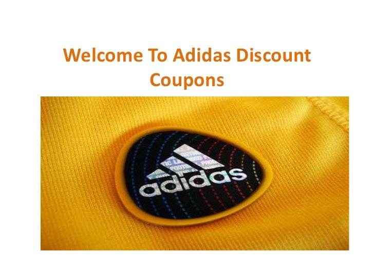 Welcome To Adidas Discount        Coupons