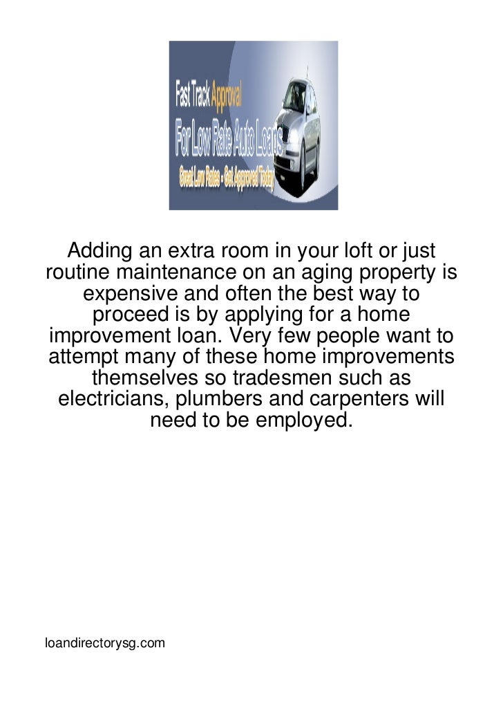 Adding an extra room in your loft or justroutine maintenance on an aging property is     expensive and often the best way ...