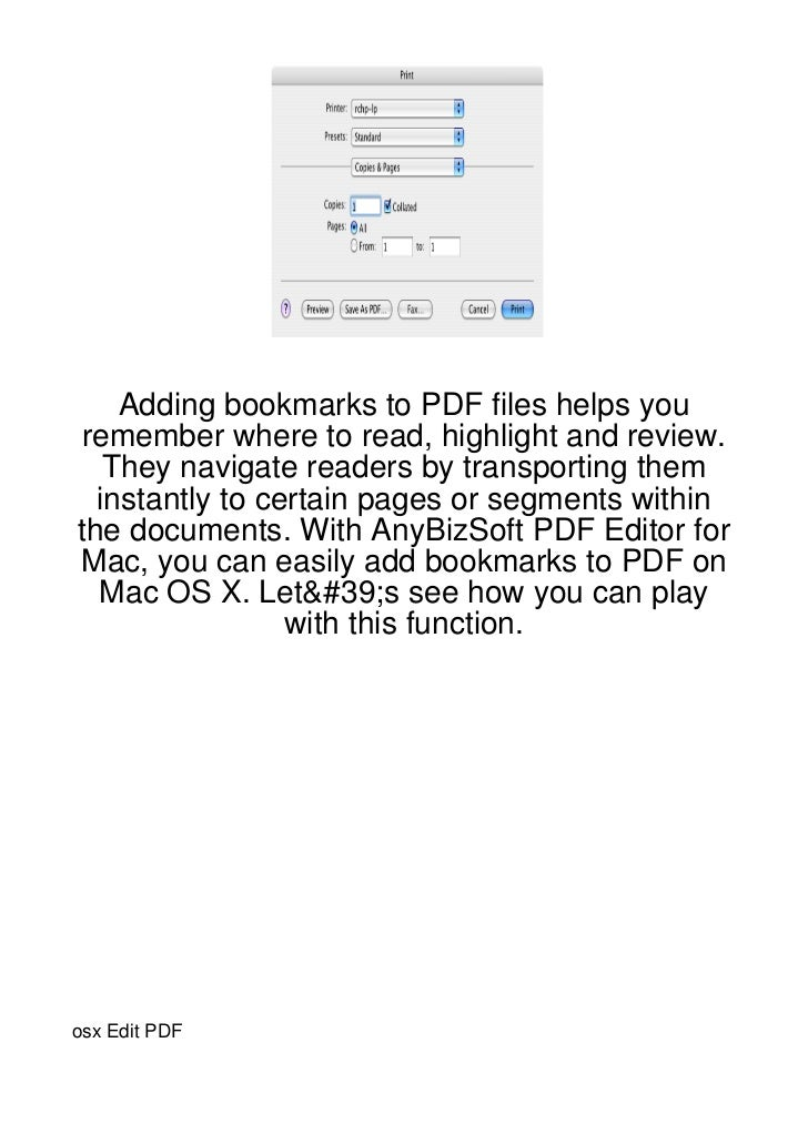 Adding bookmarks to PDF files helps you remember where to read, highlight and review.   They navigate readers by transport...