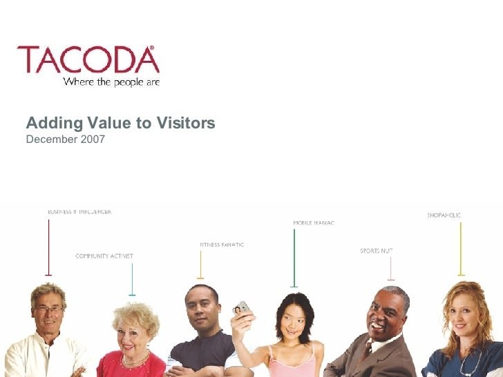 Adding value to visitors (Paul Goad)