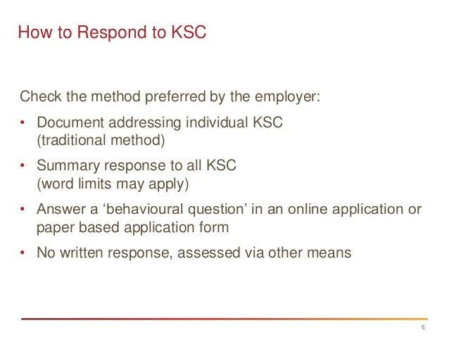 sample selection criteria answers