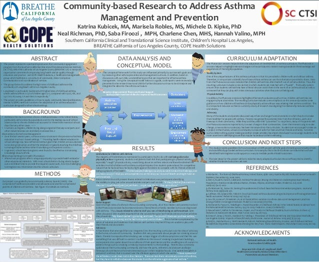 Community-based Research to Address Asthma Management and Prevention