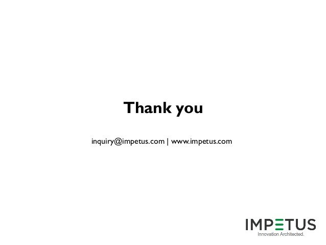 Impetus Infotech India Careers 2016