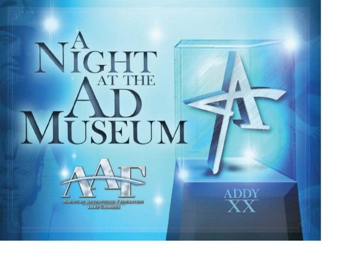 AAF Lake Charles 2008 ADDY Awards Presentation 2008