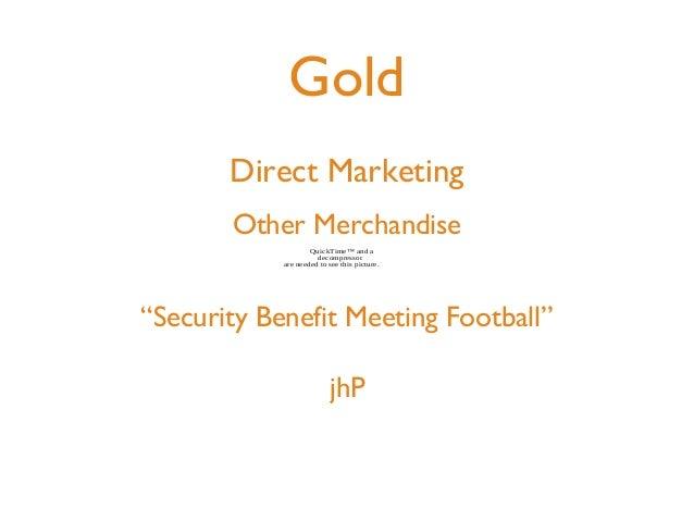 2013 ADDYs: Direct Marketing