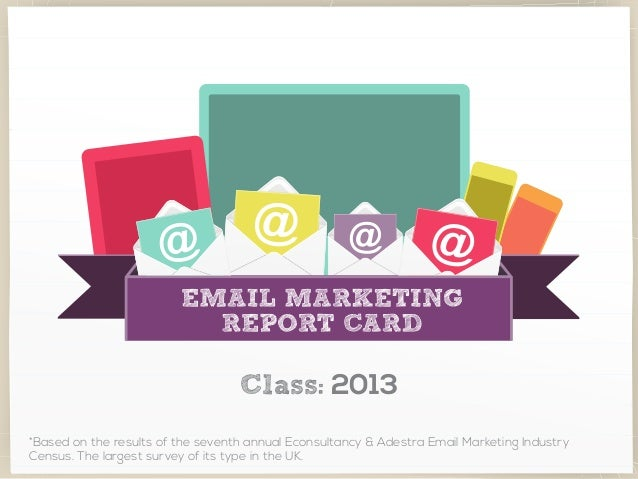 The Email Marketing Report Card