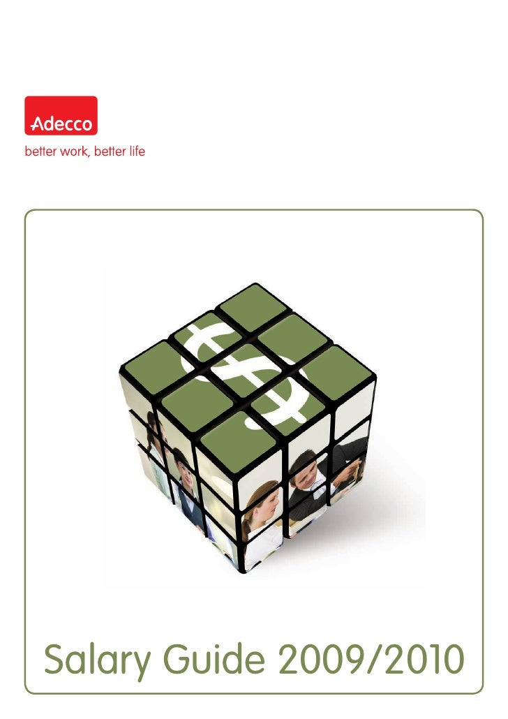 Adecco Thailand Salary Guide 2009 2010