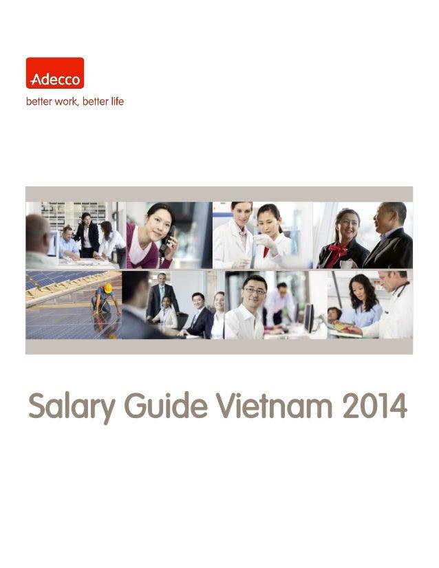 Adecco Vietnam Salary Guide 2014