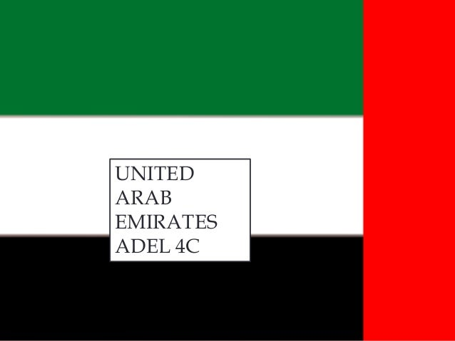 UNITED ADEL 4C By: ARAB EMIRATES ADEL 4C