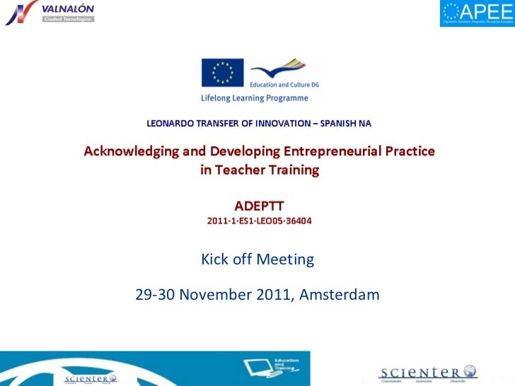 Adeptt kick off amsdam