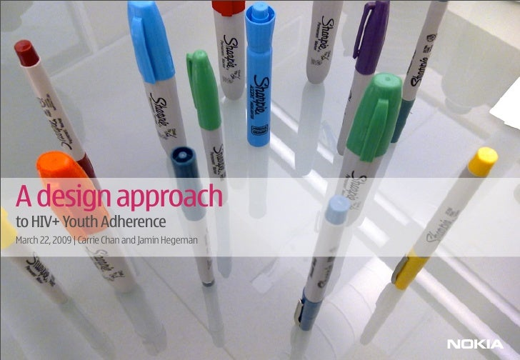 A Design Approach To Hiv Positive Youth Adherence