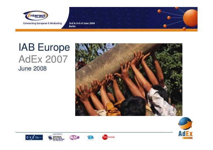 IAB Europe AdEx 2007 June 2008