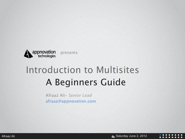 The Basics of Multisiting