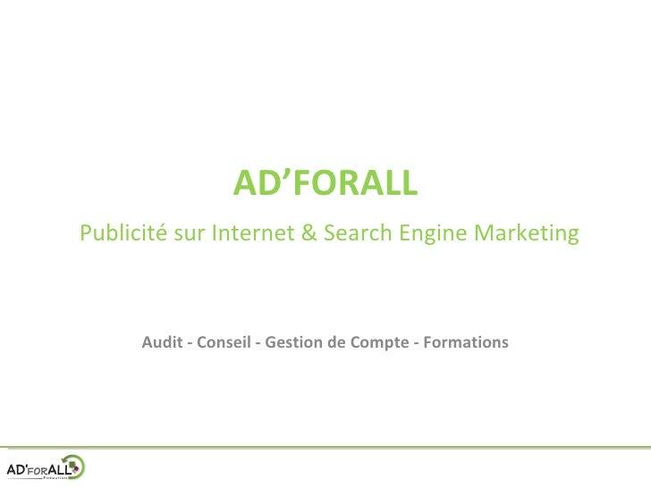 Comment optimiser Adwords et  comment se perfectionner aux publicités sur le net ?