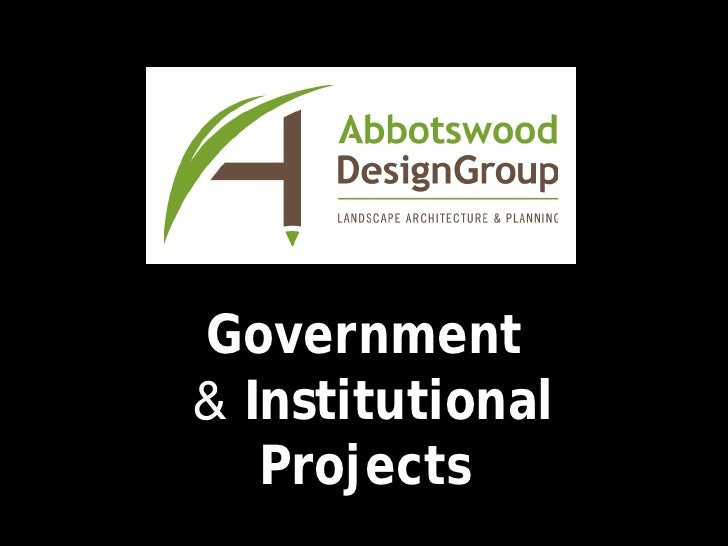 ADG Government & Institutional Projects