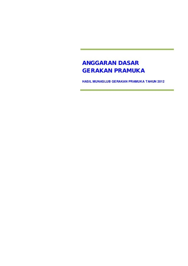 Ad hasil munaslub tahun 2012