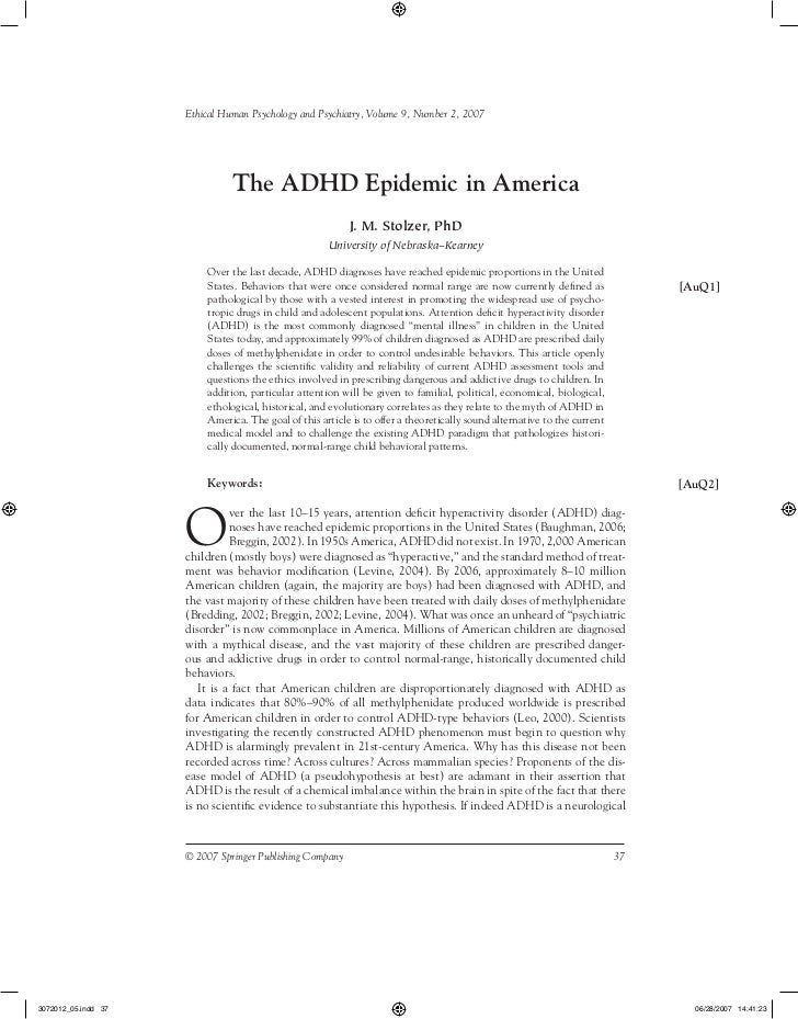 4 Reasons Why ADHD Is Epidemic in America (but not in Europe)