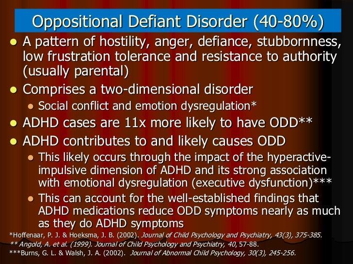 Oppositional Defiant Disorder (ODD) in Children