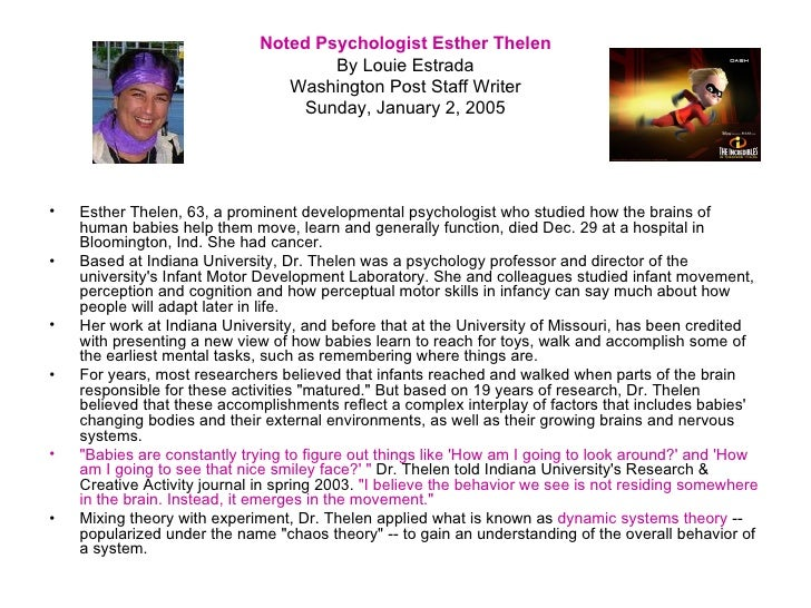 child psychologist essay Essay assignment: psychology and psychologist a psychologist psychologist career profile uploaded by tyson_626 on feb 23, 2005 psychologist a psychologist is a person who counsels and works to help understand people's problems.