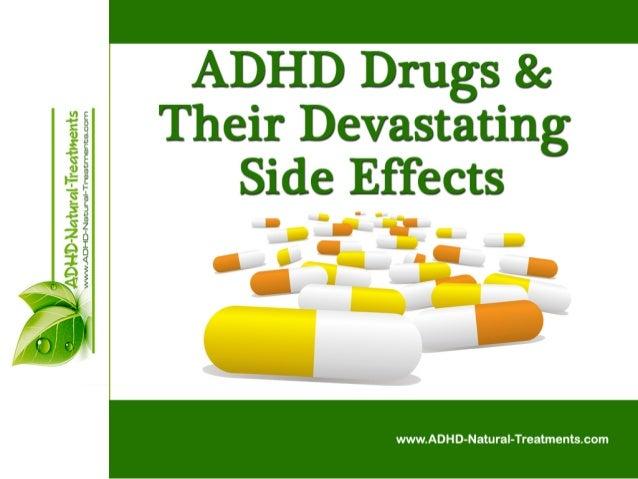 ADHD Drugs & Their Devastating Side Effects