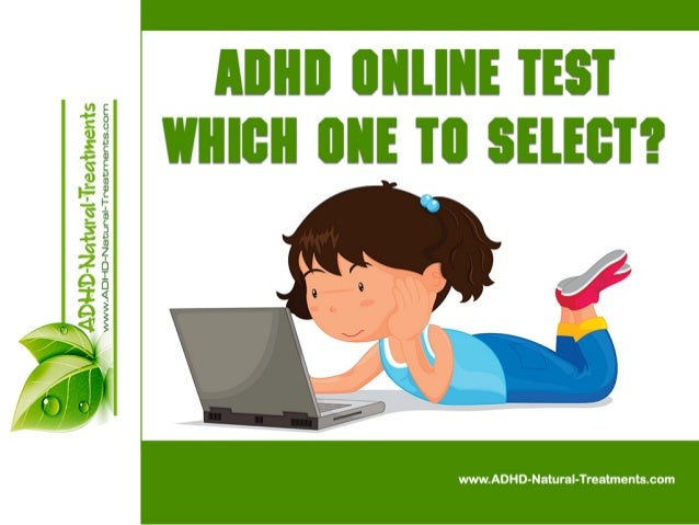 ADHD Online Test - Which One to Select?