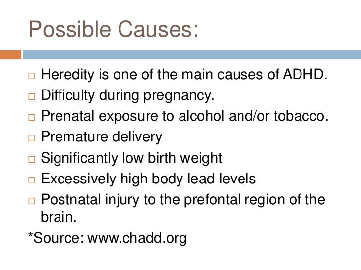 What are the Symptoms of ADHD?