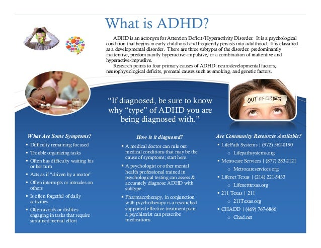 What Are The Symptoms Of Adhd In Young Adults