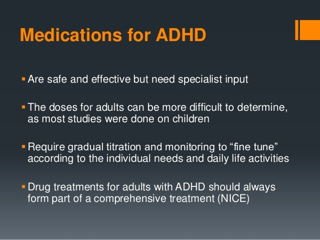 the use of ritalin as a cure for adhd essay Medicine term papers (paper 13218) on no drugs for adhd such as attention-deficit/hyperactivity disorder with the use of stimulant treatment of adhd.