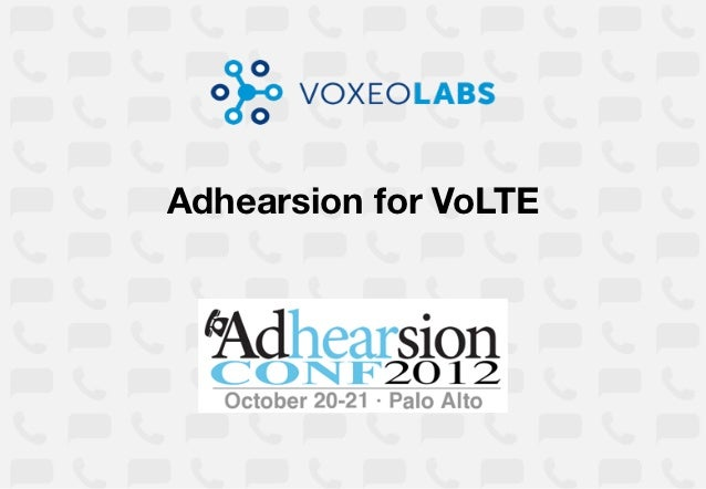 Adhearsion for VoLTE