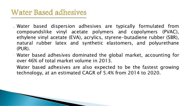 Adhesives Industry Analysis