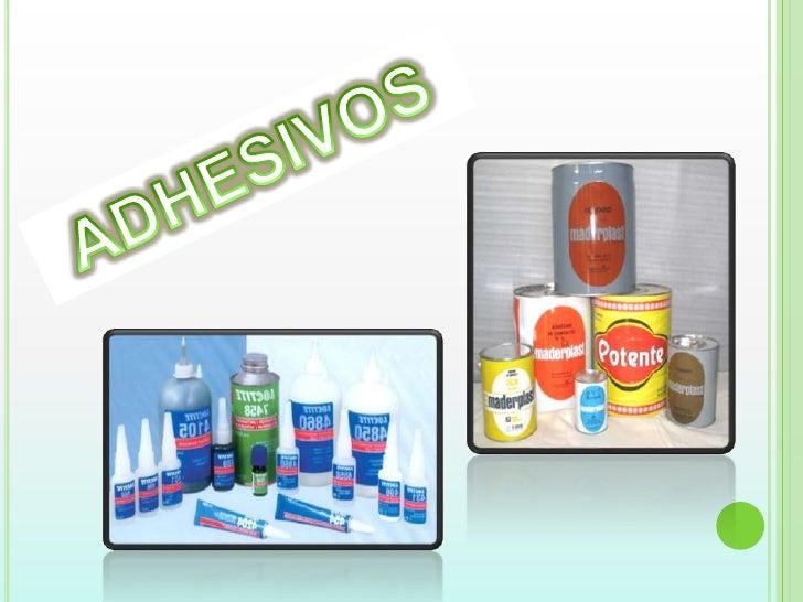Adhesivos 1