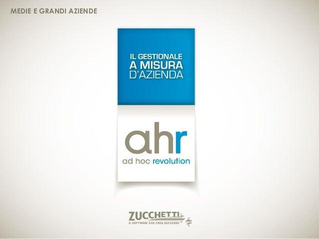 Ad Hoc Revolution - Gestionale Zucchetti | Edigest